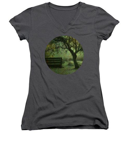 The Old Apple Tree Women's V-Neck