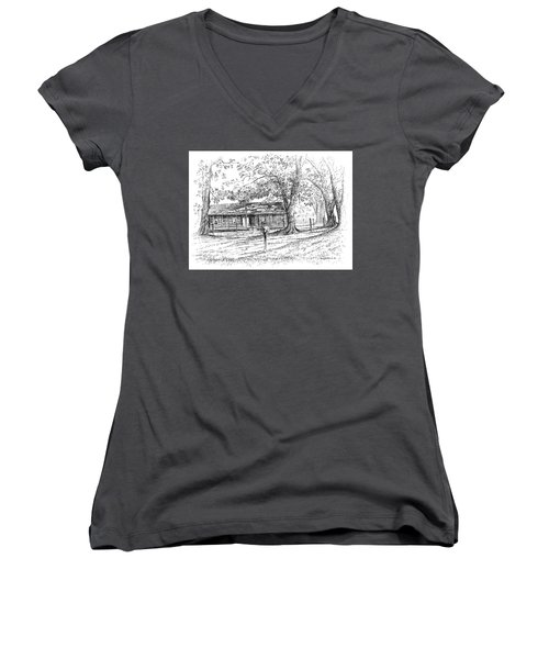The Old Homeplace Women's V-Neck