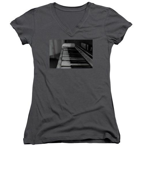 The Old Piano Women's V-Neck