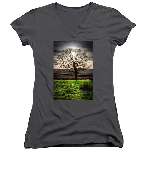 The One Tree Women's V-Neck T-Shirt