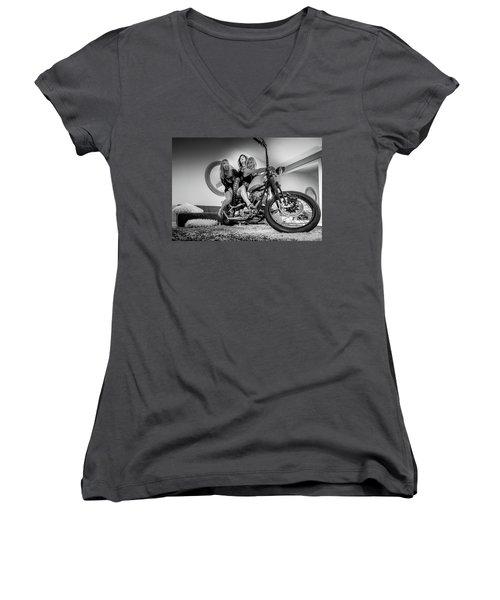The Original Troublemakers- Women's V-Neck