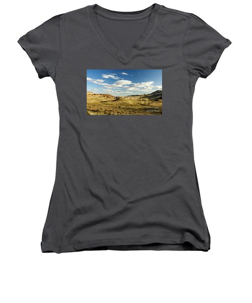The Owyhee Desert Idaho Journey Landscape Photography By Kaylyn Franks  Women's V-Neck