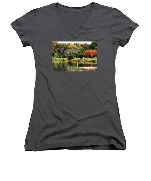 The Park Women's V-Neck T-Shirt