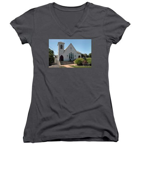 The Patchogue Seventh Day Adventist Church Women's V-Neck