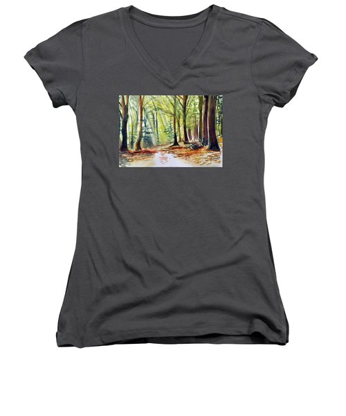 The Path Women's V-Neck