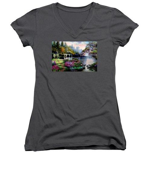 The Path Least Followed Women's V-Neck T-Shirt