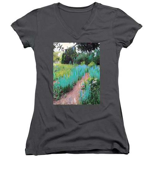 The Path Less Traveled Women's V-Neck