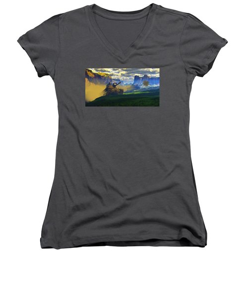 The Patton Effect Women's V-Neck