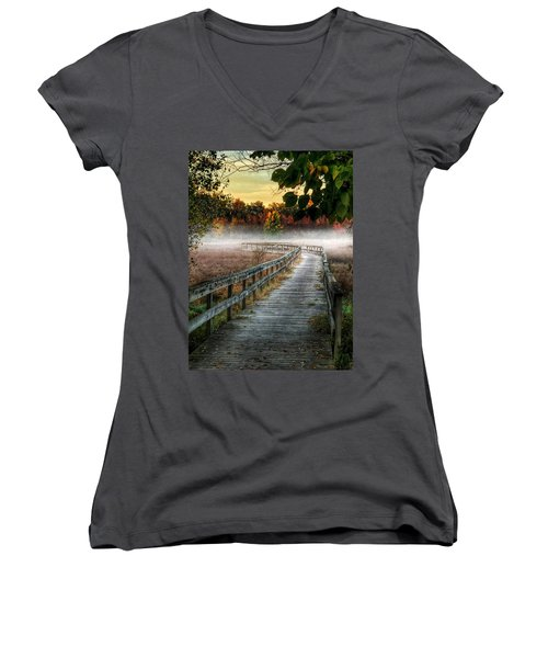 The Peaceful Path Women's V-Neck