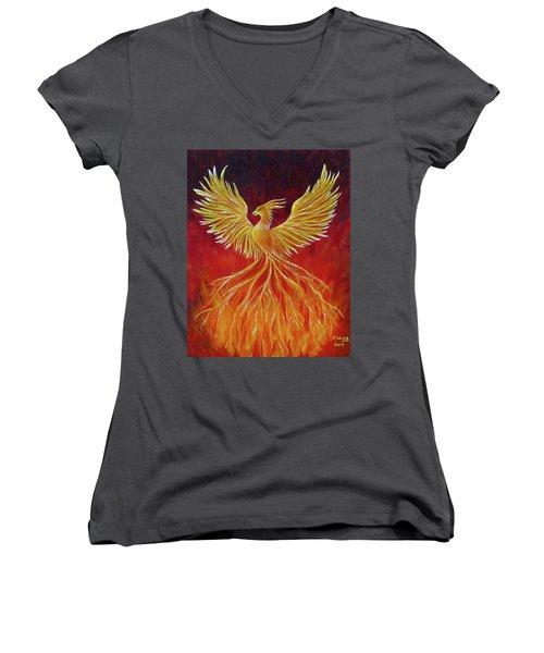 The Phoenix Women's V-Neck