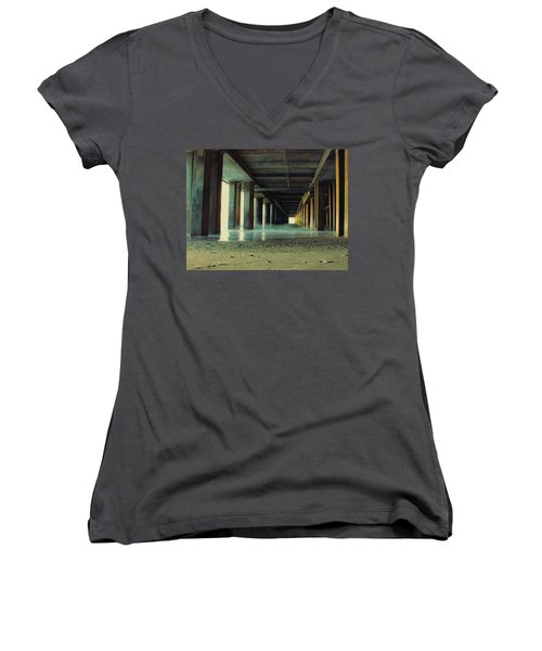 The Pier Women's V-Neck T-Shirt