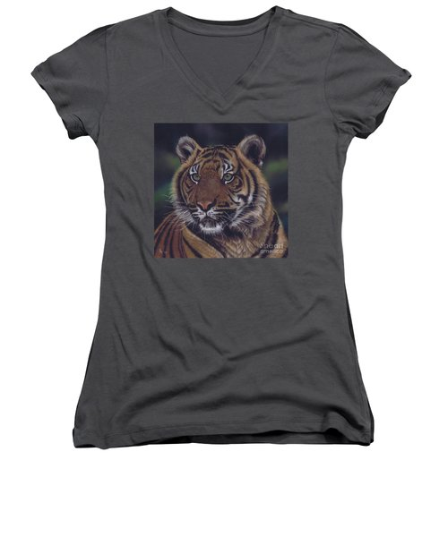 The Prince Of The Jungle Women's V-Neck