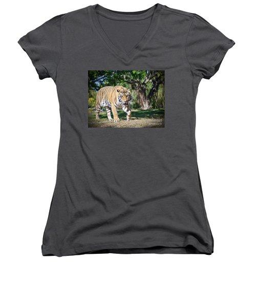 The Prowler Women's V-Neck T-Shirt