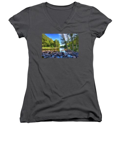 The Raquette River Women's V-Neck