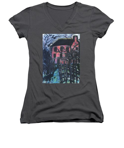 The Red House Women's V-Neck
