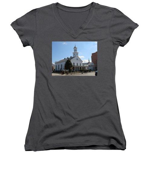 The Reformed Church Of Newtown- Women's V-Neck
