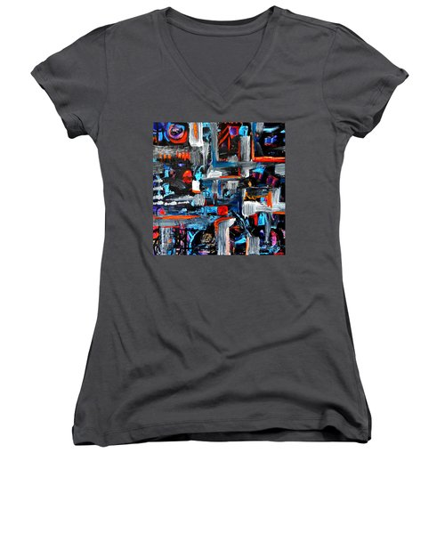 The Reprieve Women's V-Neck T-Shirt