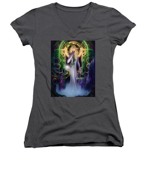 The Return Of Ithwenor Women's V-Neck T-Shirt