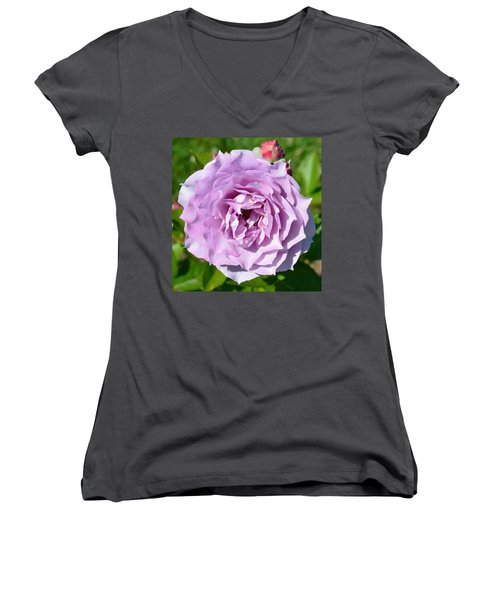 The Rose Women's V-Neck (Athletic Fit)