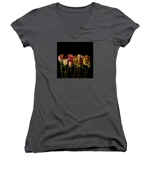 The Rose's Forest Women's V-Neck (Athletic Fit)