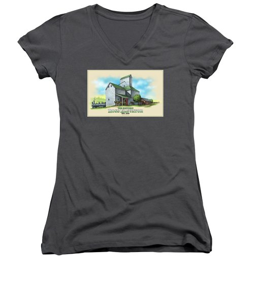 The Ross Elevator Women's V-Neck (Athletic Fit)