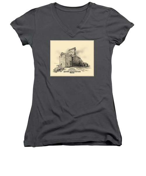 The Ross Elevator Version 2 Women's V-Neck (Athletic Fit)