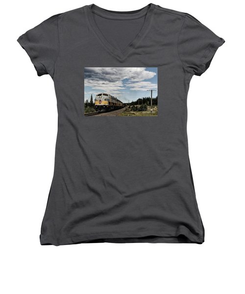 The Royal Canadian Pacific  Women's V-Neck
