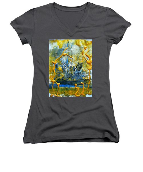The Seven Sins- Greed Women's V-Neck