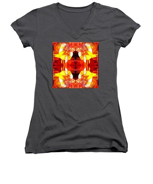 The Seventh Something Women's V-Neck T-Shirt