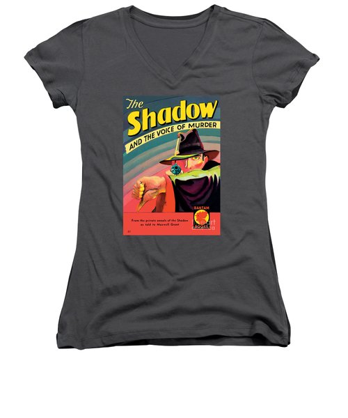 The Shadow Women's V-Neck (Athletic Fit)