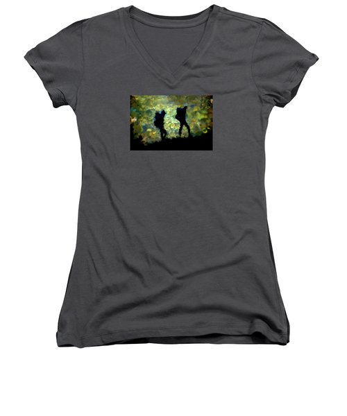 The Shadowalkers Women's V-Neck