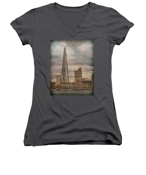 London, England - The Shard Women's V-Neck