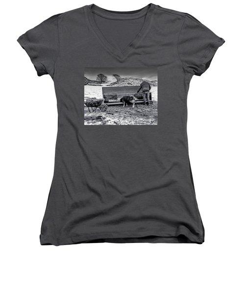 The Shepherd Women's V-Neck T-Shirt