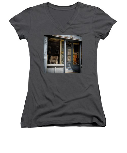 The Shop Women's V-Neck (Athletic Fit)