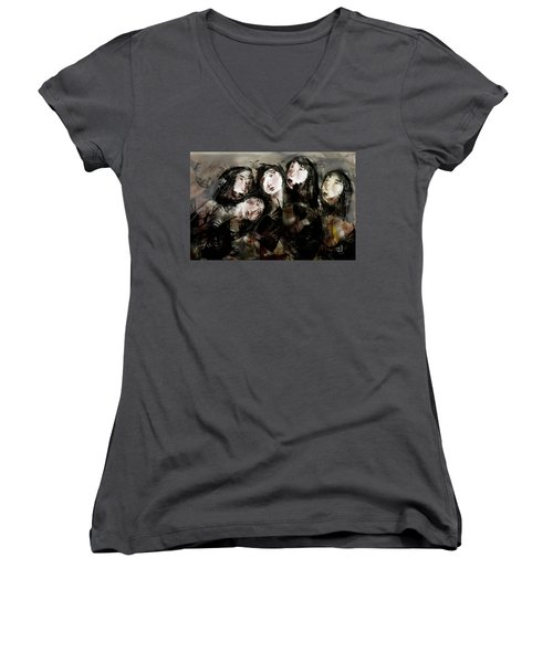 The Sisterhood Women's V-Neck T-Shirt
