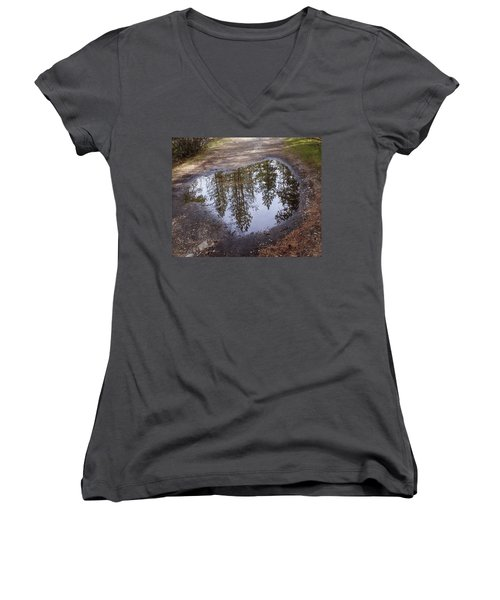 The Sky Below Women's V-Neck