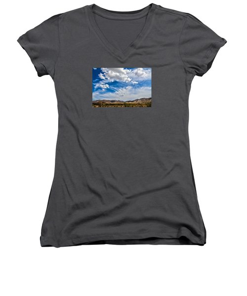 The Sky Women's V-Neck