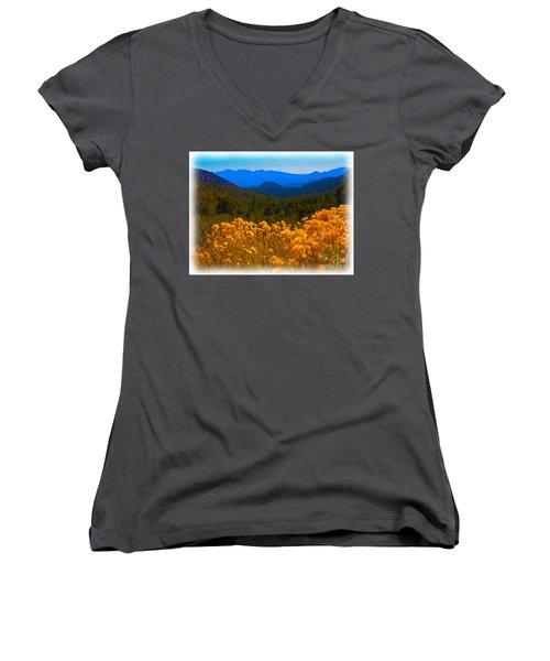 The Spring Mountains Women's V-Neck