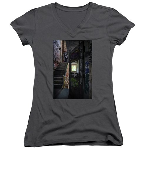 The Stairs Beyond The Door Women's V-Neck