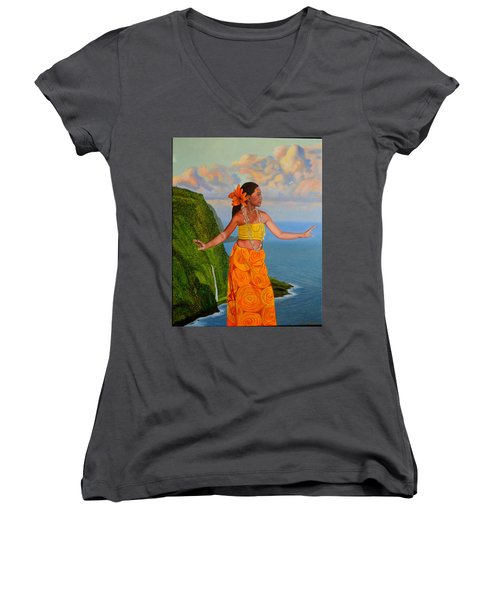 The Star Of The Sea Women's V-Neck