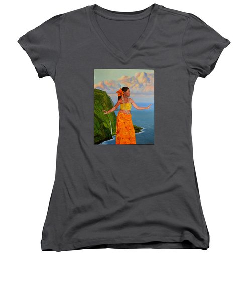 The Star Of The Sea Women's V-Neck (Athletic Fit)