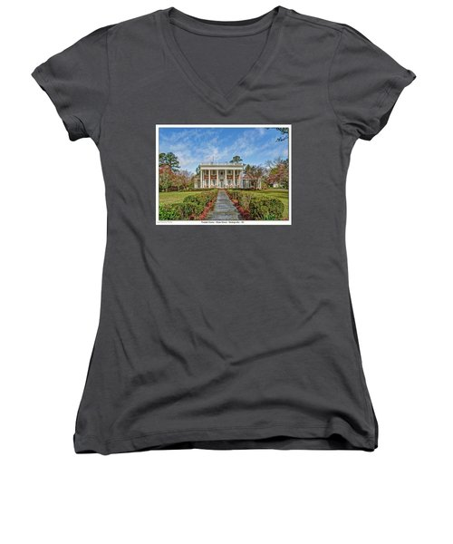 The Tisdale Manor Women's V-Neck
