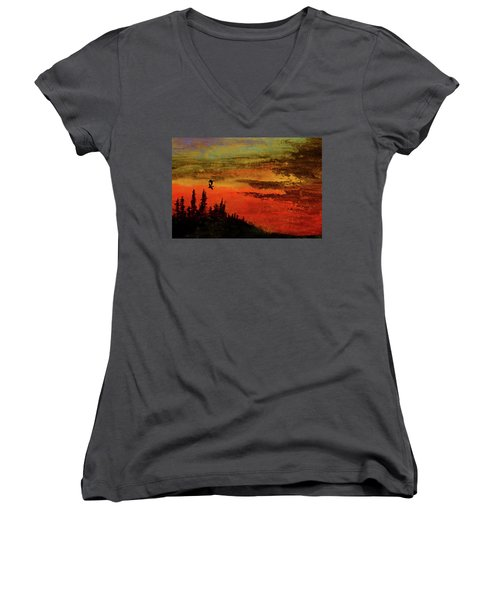 The Two Of Us Women's V-Neck (Athletic Fit)