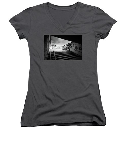 The Underpass Women's V-Neck (Athletic Fit)