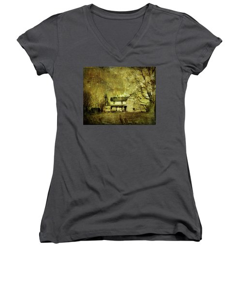 The Uninvited Women's V-Neck (Athletic Fit)