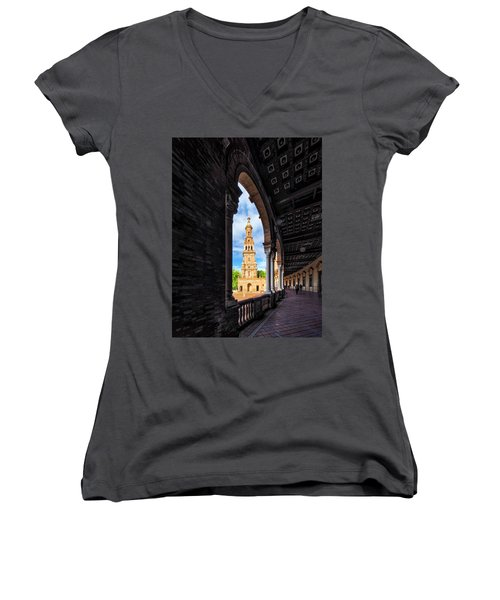 The View Again. Women's V-Neck