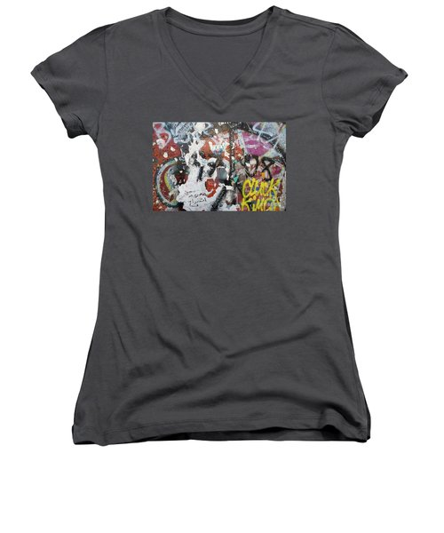 The Wall #11 Women's V-Neck