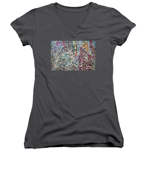 The Wall #4 Women's V-Neck