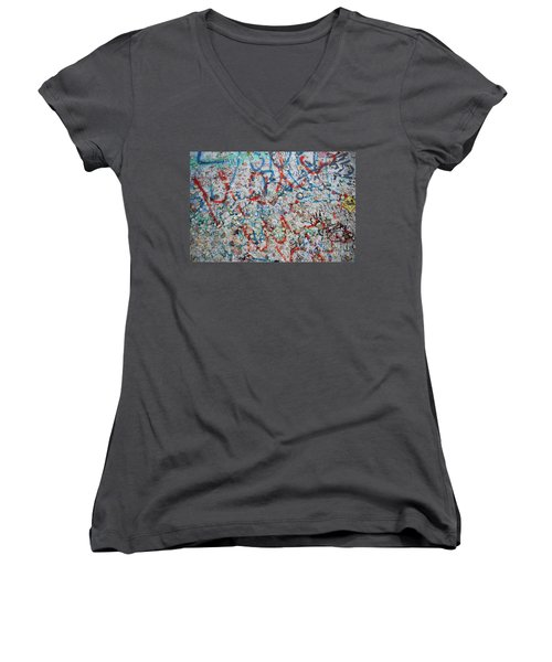 The Wall #7 Women's V-Neck