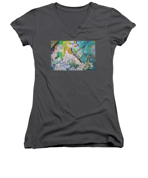The Wall #8 Women's V-Neck